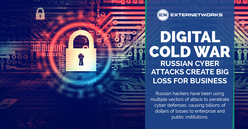 Russian Cyber Attacks Create Big Loss for Business - ExterNetworks Inc