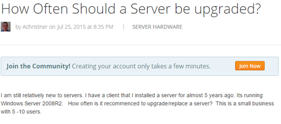 How Often Should a Server be Upgraded