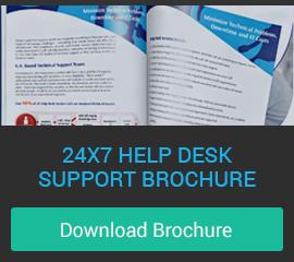 IT Help Desk Support Brochure Download, IT Help Desk Services by ExterNetworks